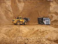 Песок речной навалом Киев Доставка
