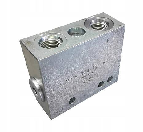 """Клапан для маркерів сівалки VDFS 3/4"""" (35 літрів/хв), фото 2"""