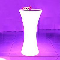 Led  барная стойка Noblest Art  для баров, кафе, событий  60*60*110 см  (LY3065) , фото 1
