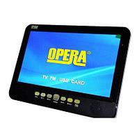 """Автотелевизор портативный тюнер Т2 монитор в машинуTV Opera NS-1002 USB+SD телевизор переносной реальных 10.8"""""""