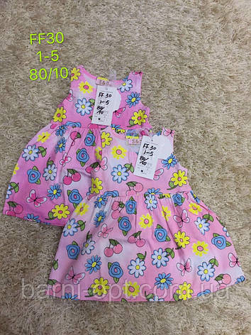 Сукні для дівчаток оптом,S&D, 1-5 рр., фото 2