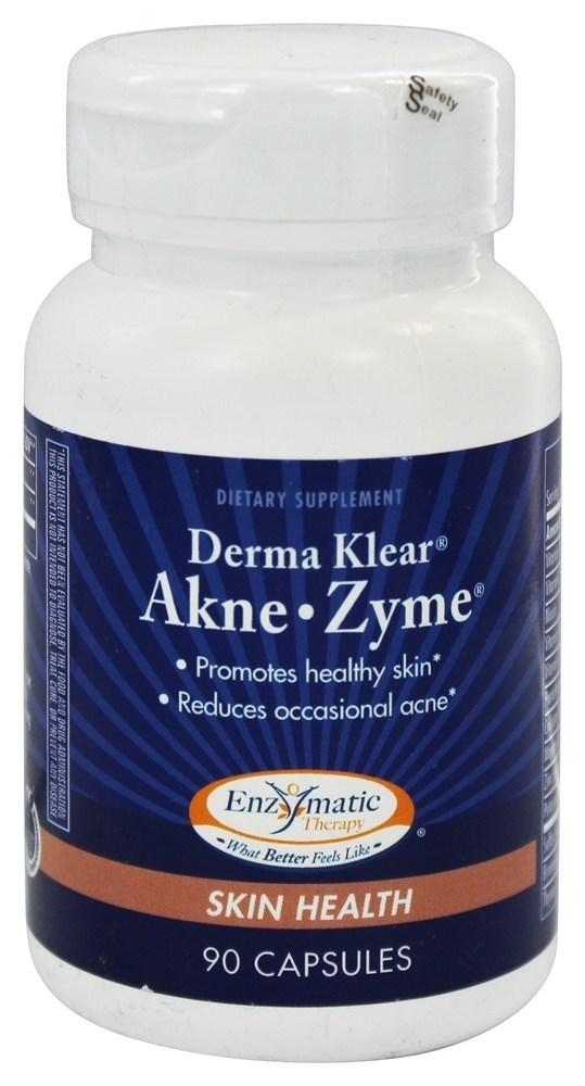 Лечение акне Derma Klear Akne Enzymatic Therapy, 90 капсул