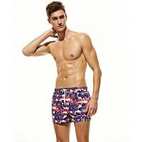 Мужские пляжные шорты № 24419 (р.M-XL)
