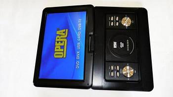 """Портативний DVD-програвач з Т2 Opera 1680 TV (реальний розмір екрану 15, 6"""")"""
