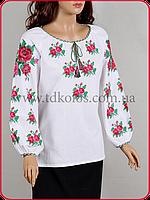 Украинская вышиванка для девушки «Букет»
