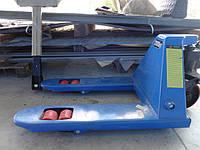 Тележка гидравлическая (рокла) короткая 700 мм длина вил 2000 кг.