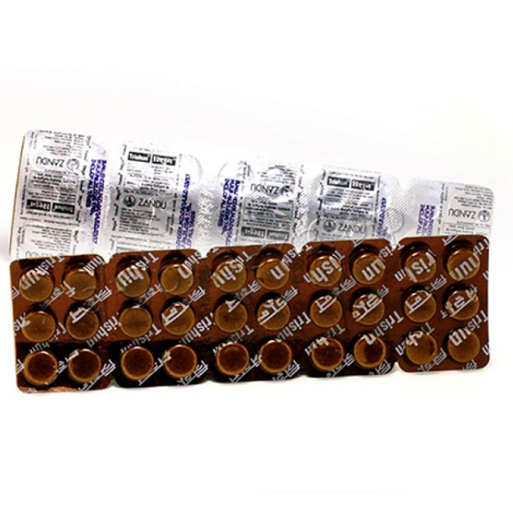 Тришун от простуды и гриппа (Trishun, Zandu), 30 таблеток