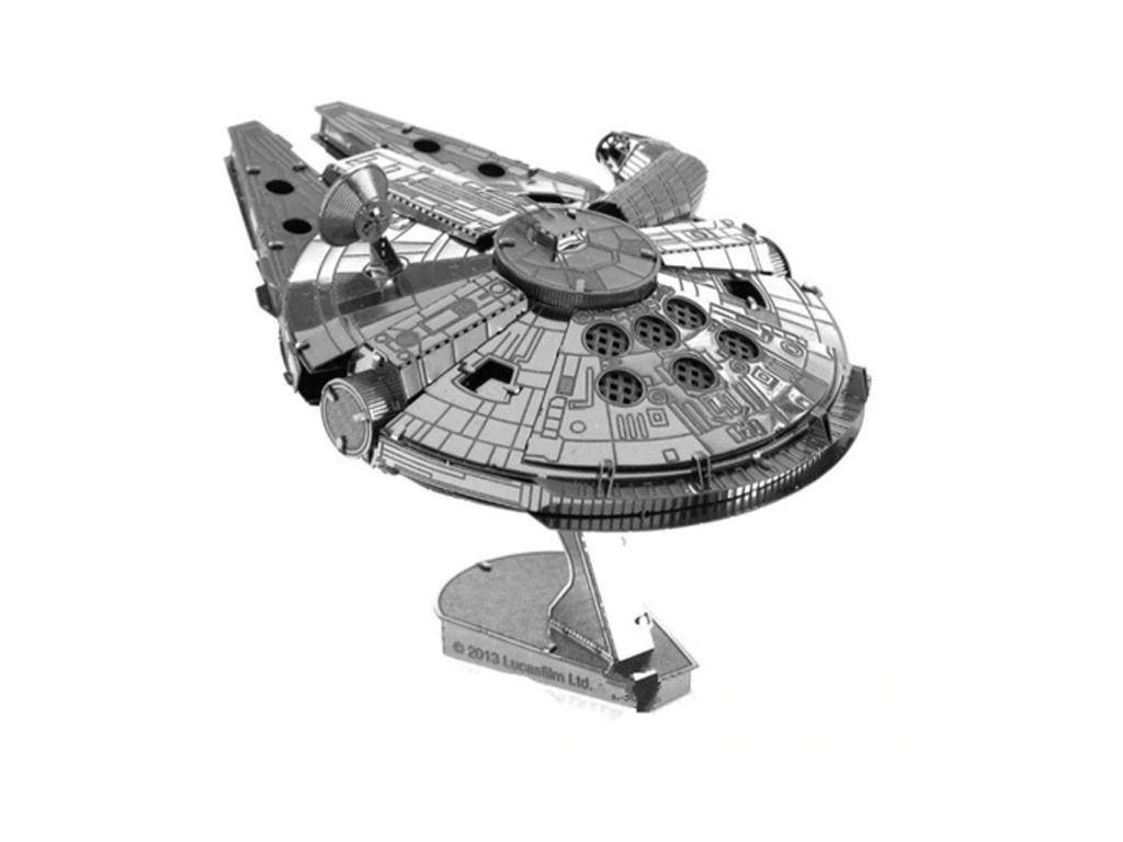 Головоломка металлическая 3Д пазл конструктор MILLENNIUM FALCON