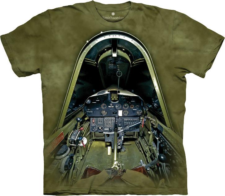 3D футболка The Mountain -  Vought F4u-1d Corsair Cockpit