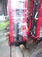 Штабелер ручной гидравлический 1000 кг высота 2500 мм. Наличие на складе