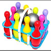 Боулінг Kinder Way KW-60-020, 10 кегель, 2 м'ячі