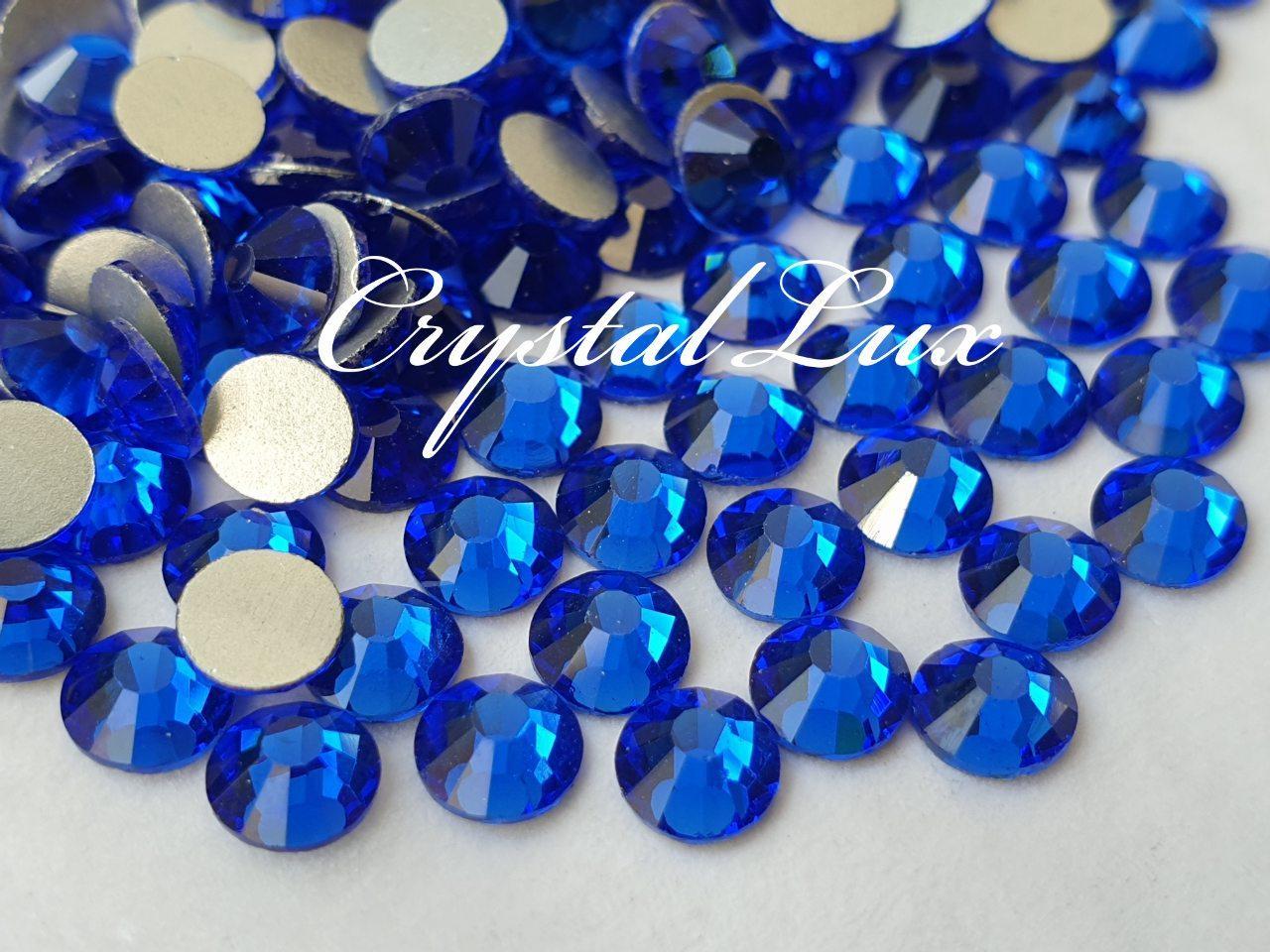 Стразы Lux ss20 Sapphire (5.0mm) 1440шт