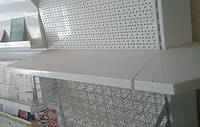 Полки для металевих стелажів