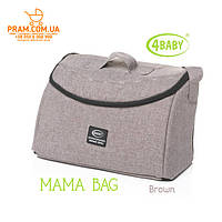 4BABY MAMA BAG 2019 сумка для коляски Brown Коричневый