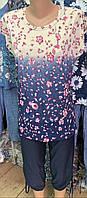 Костюм женский с бриджами  размер 50-52-54-56-58