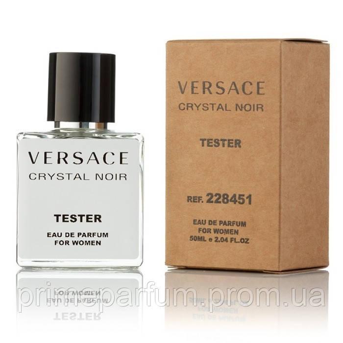 Versace Crystal Noir Edp 50 Ml Tester парфюмированная вода версаче
