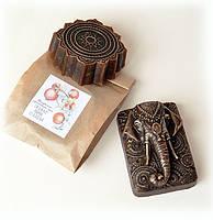 Натуральное мыло ГРАНАТ И ПЕРЕЦ мыло подарок мужчине ручной работы