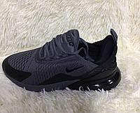 Мужские кроссовки, демисезон реплика фирмы Nike черного цвета
