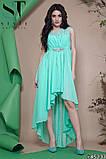 Женское вечернее асимметричное платье в пол 42-46р (7расцв) , фото 9