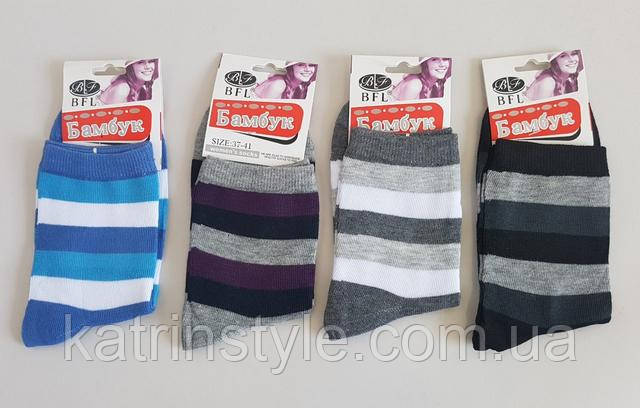 изображение женские стрейчевые носки в широкую полоску
