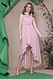 Женское вечернее асимметричное платье в пол 42-46р (7расцв) , фото 10
