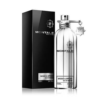 Духи древесно пряные оригинал MONTALE Wood & Spices (Монталь Вуд Энд Спайсес) парфюмированная вода - 100ml