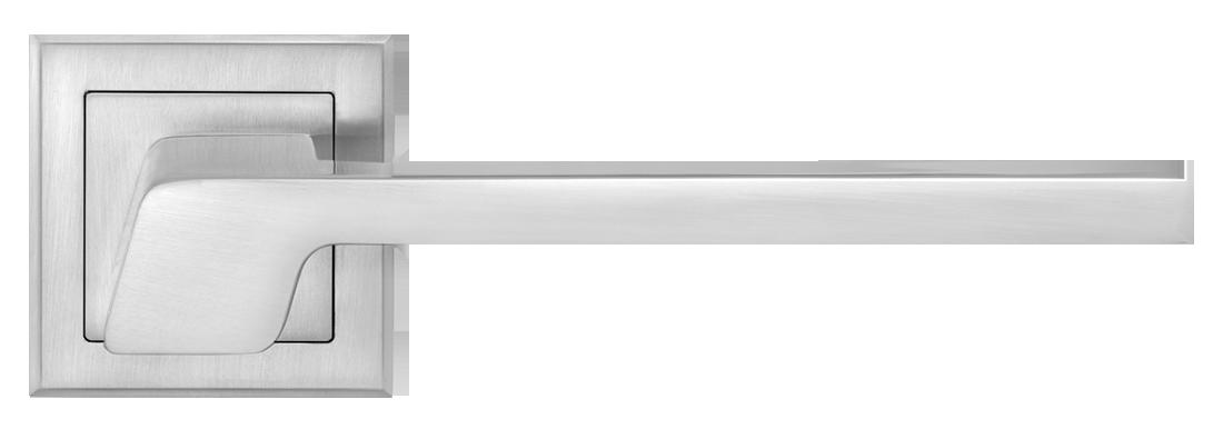 Дверные ручки LINDE A-2016 MC матовый хром