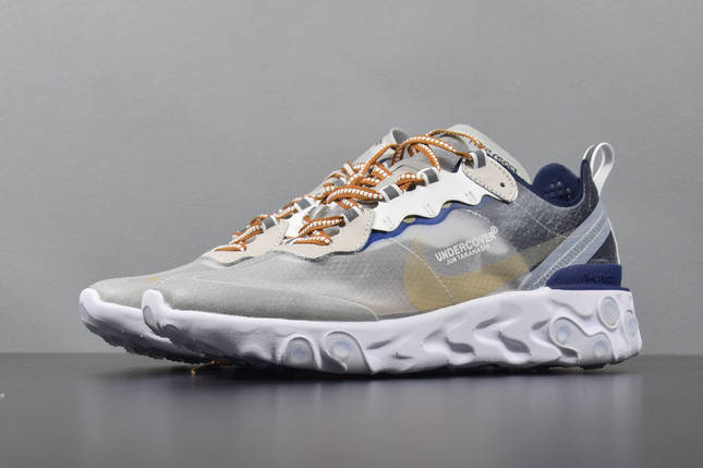 Мужские Кроссовки NIKE EPIC REACT ELEMENT 87/UNDERCOVER White, фото 2