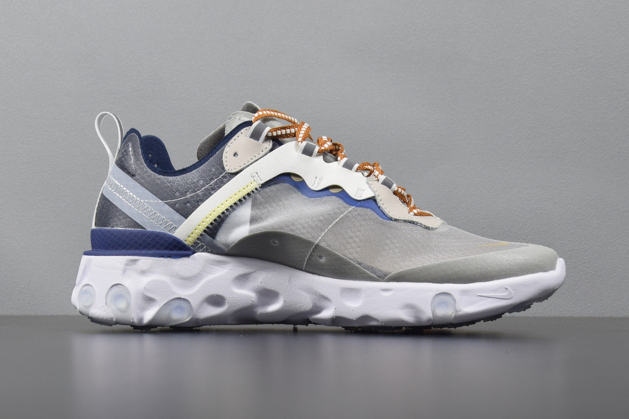 Мужские Кроссовки NIKE EPIC REACT ELEMENT 87/UNDERCOVER White