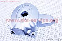 Крышка двигателя левая статора магнето на 2 катушки  Дельта 110сс