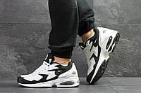 Мужские кроссовки в стиле Nike Air Max 2 Light White/Black 44 (28 см)