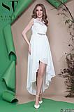 Женское вечернее асимметричное платье в пол 42-46р (7расцв) , фото 4