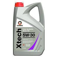 Полностью синтетическое моторное масло Comma  Xtech 5W-30 5L.