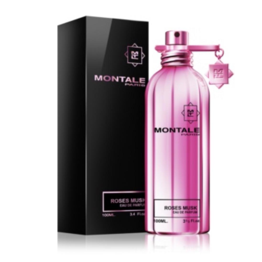 Цветочный древесно-мускусный аромат MONTALE Roses Musk (Монталь Розе Муск) парфюмированная вода - 50ml