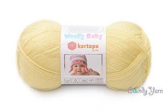 Kartopu Woolly Baby, Лимон № K331