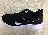 Женские кроссовки, демисезонные, реплика фирмы Nike черные