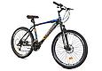 """Горный велосипед CROSSRIDE SPIDER 26"""" Черный/Голубой, фото 2"""