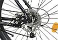 """Горный велосипед CROSSRIDE SPIDER 26"""" Черный/Голубой, фото 8"""