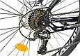 """Горный велосипед CROSSRIDE SPIDER 26"""" Черный/Голубой, фото 5"""