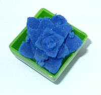 Игрушка Растишка Цветок средн.  синий