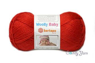 Kartopu_Woolly Baby_Красный № 150