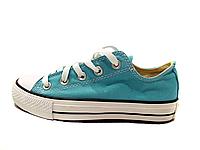 Кеды Конверс низкие Converse All Star Светло-голубые