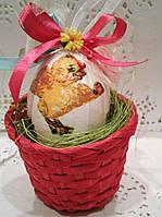 Декоративное пасхальное яйцо Подарок на пасху Ручная работа