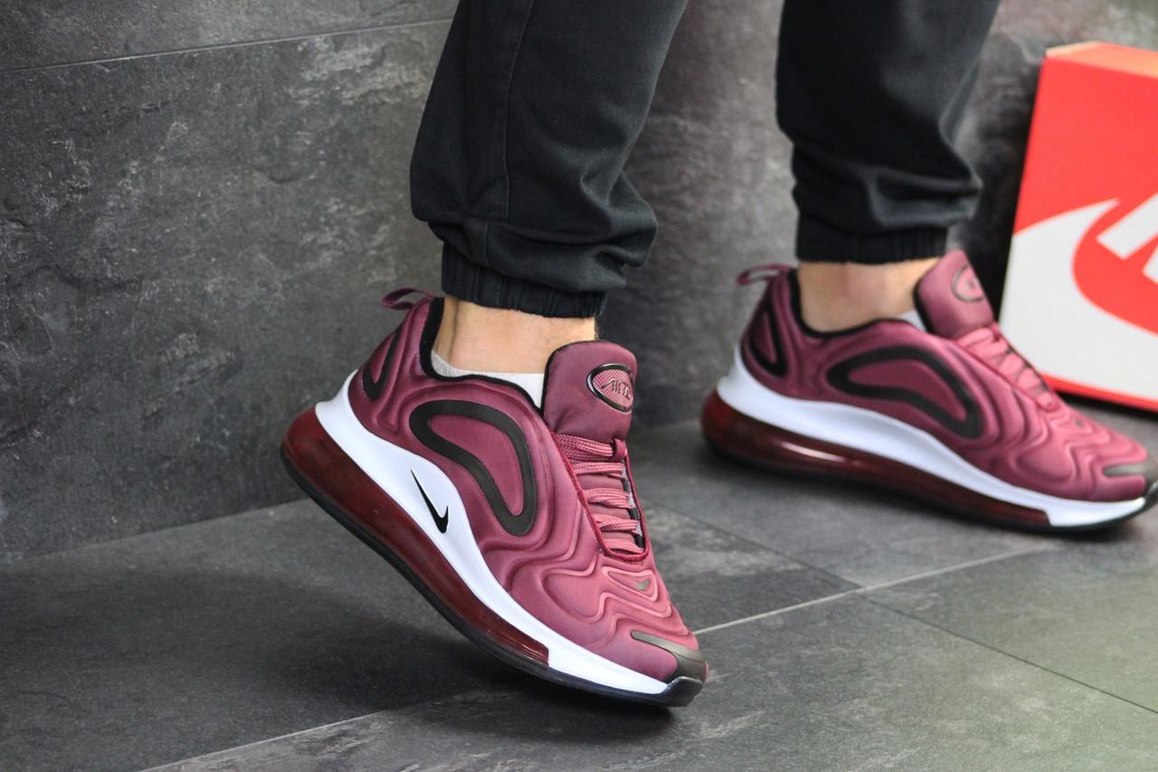 0382d5e2 Мужские кроссовки Nike Air Max 720 (бордовые) - Интернет-магазин