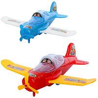 Літак 520-15 2 кольори, в кульку, 20-14-6 см
