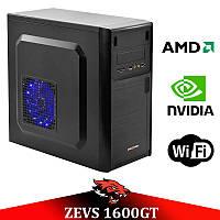 Недорогой игровой ПК ZEVS PC1600GT 2 Ядра 6GB RAM + GTX 650 1GB +Игры