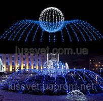 Световая фигура - фонтан  LUMIERE  3D FOUNTAINS  EF004
