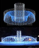 Световая фигура - фонтан  LUMIERE  3D FOUNTAINS  EF008