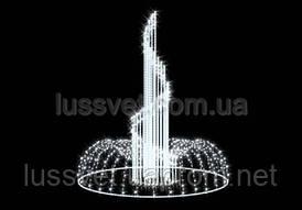 Световая фигура - фонтан  LUMIERE  3D FOUNTAINS  EF014