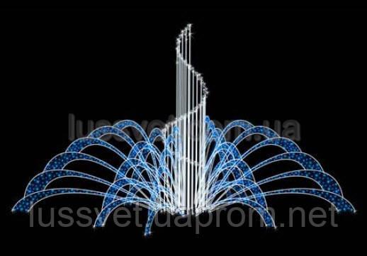 Световая фигура - фонтан  LUMIERE  3D FOUNTAINS  EF011